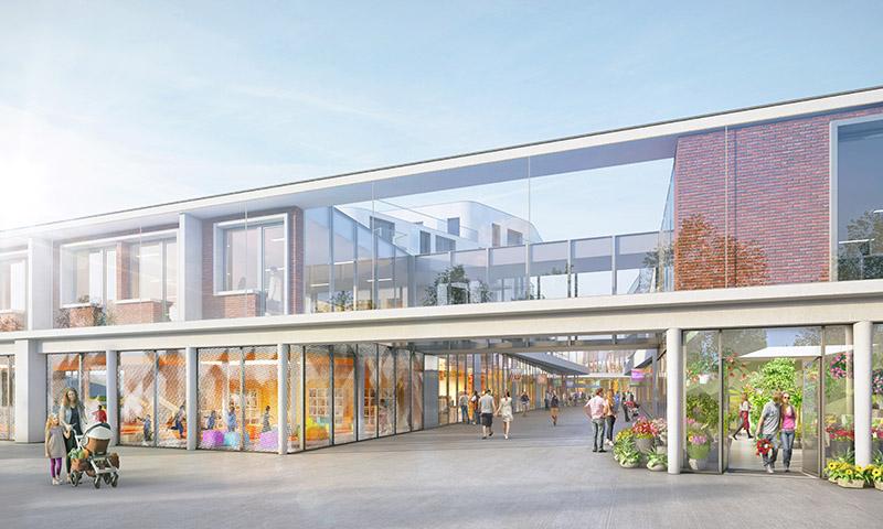 Dunkerque le visage du nouveau centre ville se dessine for Projet piscine