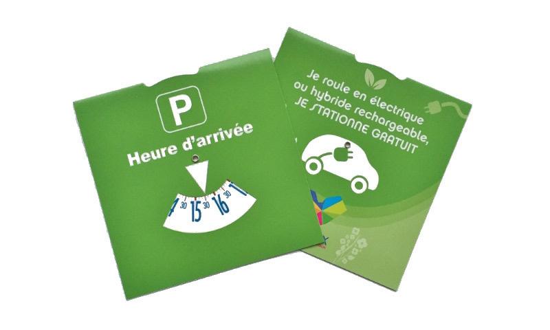 boulogne mer un disque vert offrira 2 heures de stationnement gratuit aux voitures. Black Bedroom Furniture Sets. Home Design Ideas
