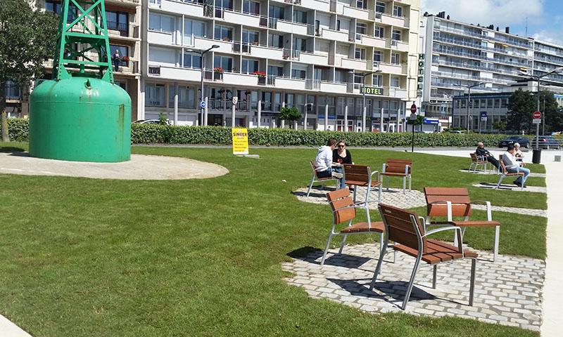 Boulogne mer les jardins de la promenade de nausicaa - Les jardins de la matelote boulogne sur mer ...