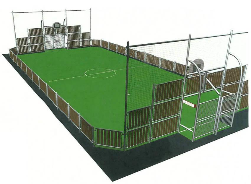 le portel le maire annonce un city stade pour le club de foot son opposant laurent feutry. Black Bedroom Furniture Sets. Home Design Ideas