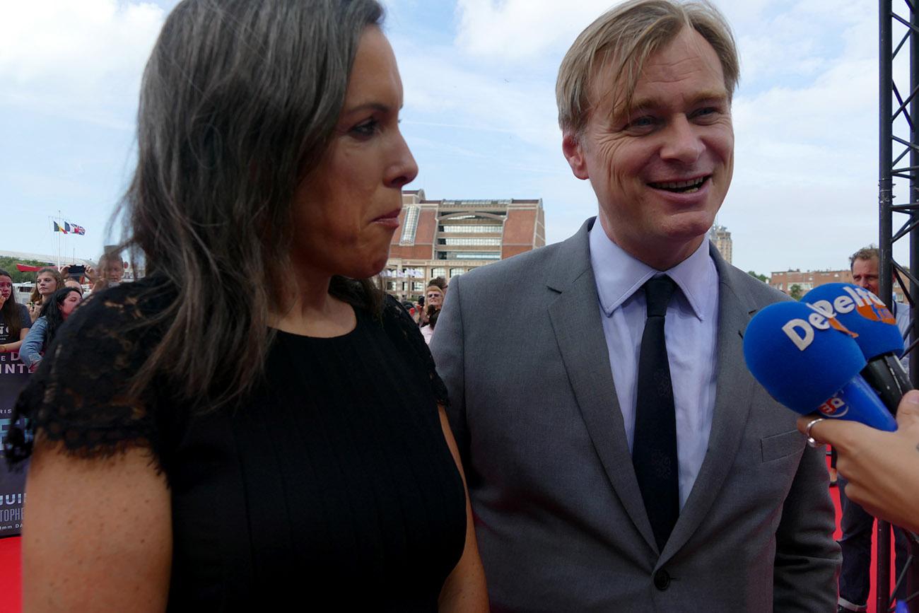 Photographie de Christopher Nolan par Delta FM