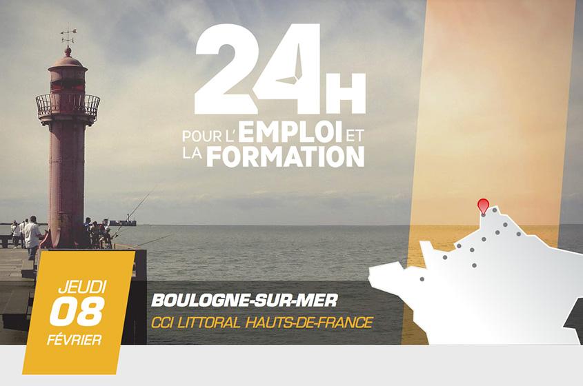 Boulogne/Mer - Vous Cherchez Du Boulot ? Rendez-Vous Aux 24H Pour L