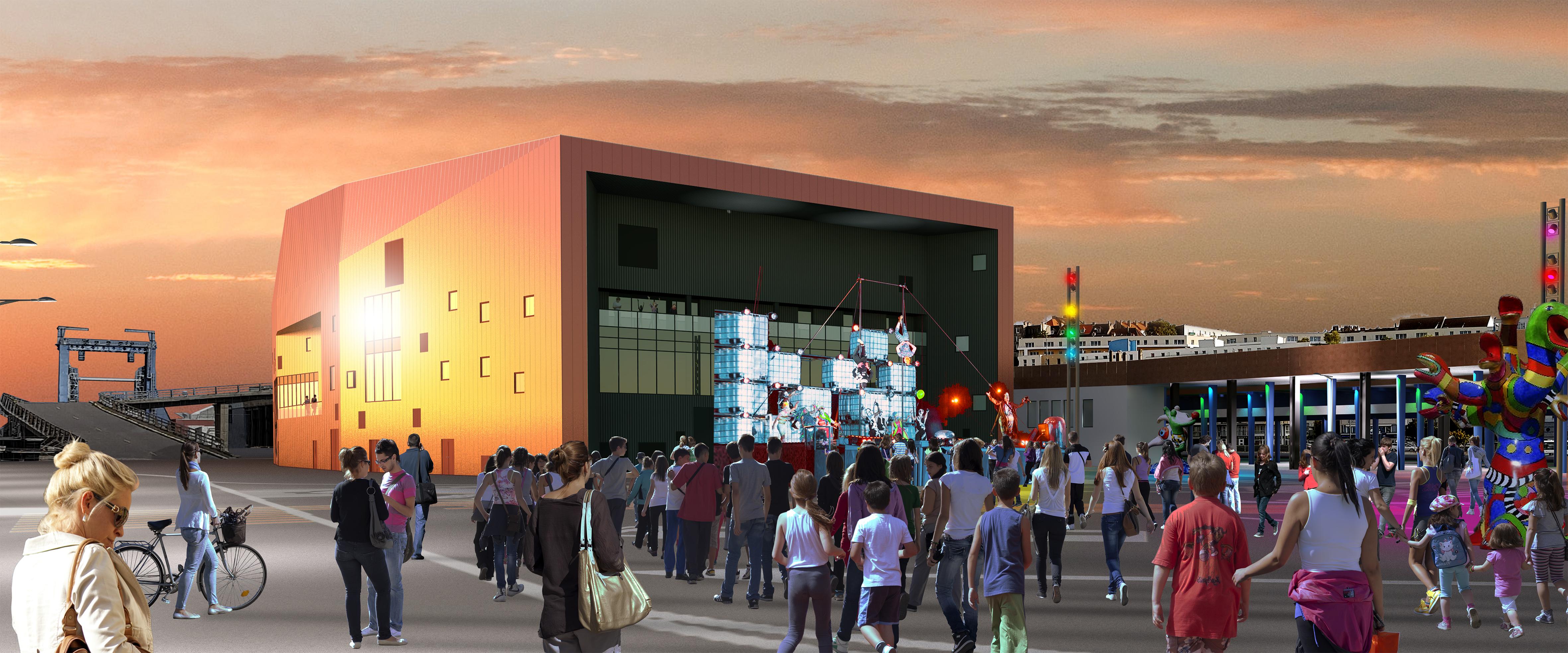 Architecte D Intérieur Boulogne Sur Mer boulogne/mer - le chantier de la future salle de spectacle a