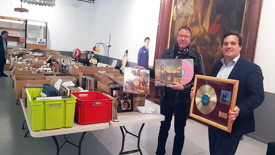 Saint Martin Boulogne 4 000 Vinyles Vendus Aux Ench 232 Res