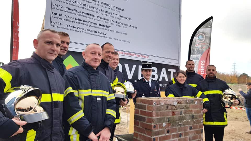 Les travaux de la nouvelle caserne des pompiers ont démarré - Delta FM